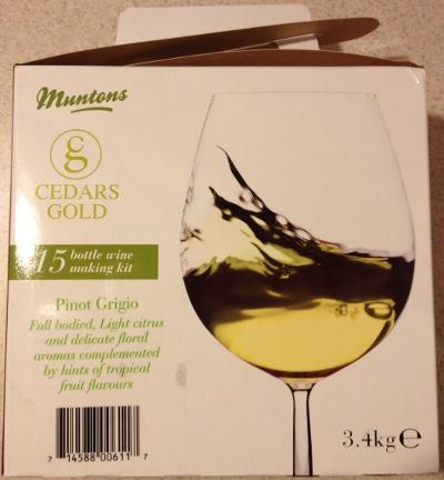 Cedars Gold - Pinot Grigio